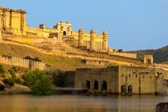 Amber Fort a Jaipur India Ragiastan immagine stock libera da diritti