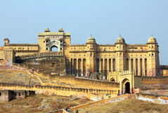 Amber fort in Jaipur India Stock Photography