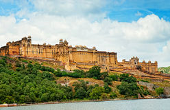 Amber Fort in Jaipur, Rajasthan, India Stock Photos