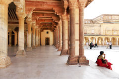 Amber Fort in Jaipur Royalty Free Stock Photos