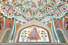 Amber Fort in Jaipur. Rajasthan, India Stock Photos