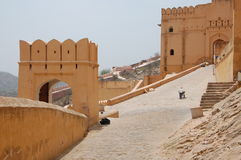 Amber Fort in Jaipur Royalty Free Stock Photography