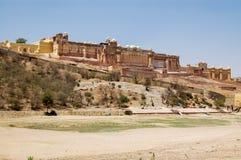 Amber Fort nahe Jaipur, Rajahstan Stockfotografie