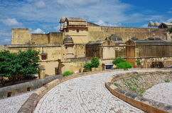 Amber Fort near Jaipur city , India Stock Images