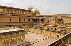 Amber Fort near Jaipur, India Stock Images