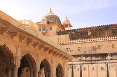 Amber Fort near Jaipur, India Stock Photography