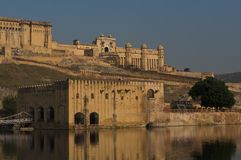 Amber Fort near Jaipur Royalty Free Stock Image