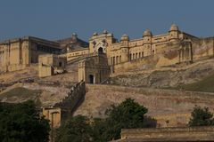 Amber Fort near Jaipur Royalty Free Stock Photo