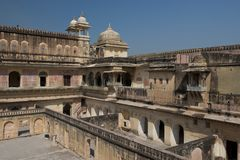 Amber Fort near Jaipur Stock Images