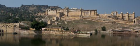 Amber Fort near Jaipur Stock Image