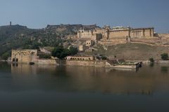Amber Fort near Jaipur Stock Photography
