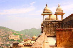 Amber Fort near Jaipur, Rajasthan, India Royalty Free Stock Photos