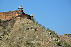 Amber Fort ou palais, nr Jaipur, Inde Photos stock
