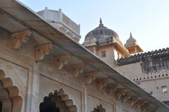 Amber Fort & Palace in Jaipur Royalty Free Stock Photography