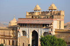 Amber Fort & Palace in Jaipur Stock Image