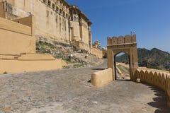 Amber Fort près de Jaipur au Ràjasthàn, Inde Amber Fort est le mA Images libres de droits