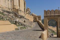 Amber Fort près de Jaipur au Ràjasthàn, Inde Amber Fort est le mA Photo libre de droits