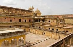 Amber Fort près de Jaipur, Inde Images stock
