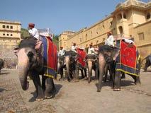 Amber Fort, Rajasthan 03 Imagem de Stock