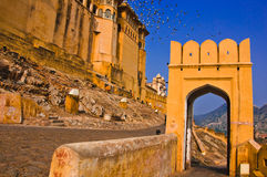 The Amber Fort, Rajasthan Royalty Free Stock Image