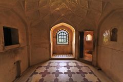 Amber Fort Royal Room Imagens de Stock Royalty Free