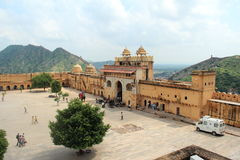 Amber Fort In Side. Stock Photography