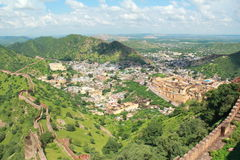 Amber Fort Top View . royalty free stock photo