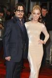 Amber Gehoord, Johnny Depp Stock Fotografie