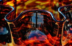 Amber Glass Stock Photography