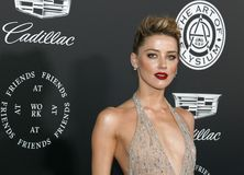 Amber Heard. At the Art Of Elysium`s 11th Annual Heaven Celebration held at the Barker Hangar in Santa Monica, USA on January 6, 2018 Stock Images