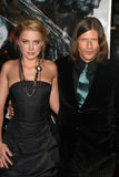 Amber Heard, Crispin Glover Stock Images