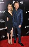 Amber Heard & McG Royaltyfria Bilder