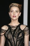 Amber Heard. At the World premiere of `Justice League` held at the Dolby Theatre in Hollywood, USA on November 13, 2017 Stock Photography
