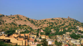Amber and Jaigarh Fort, Jaipur Royalty Free Stock Image