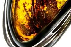 Amber jewelery Royalty Free Stock Image