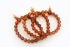 Amber Jewelry Bracelets Stock Afbeelding