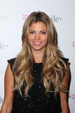 Amber Lancaster, Mr Brainwash. Amber Lancaster at Google And T-Mobile Celebrate The Launch Of Google Music, Mr. Brainwash Studios, Los Angeles, CA 11-16-11 royalty free stock photography