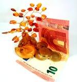Amber money tree Royalty Free Stock Photo