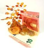 Amber money tree Stock Photo