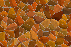 Amber mosaic background Royalty Free Stock Images