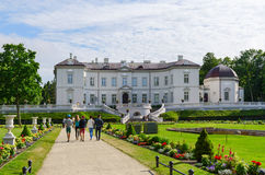 Amber Museum in the Botanical Park, Palanga, Lithuania Royalty Free Stock Photos
