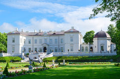 Amber Museum in Botanisch Park, Palanga, Litouwen royalty-vrije stock fotografie