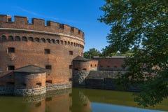 Amber Museum i Kaliningrad royaltyfria bilder