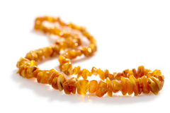Amber Necklace Stock Images