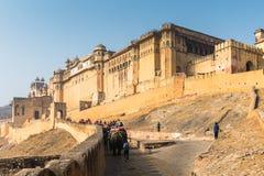 Amber Palace, état de Jaipur, Ràjasthàn, Inde Images stock