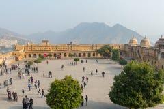 Amber Palace, état de Jaipur, Ràjasthàn, Inde Image stock