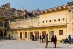 Amber Palace, état de Jaipur, Ràjasthàn, Inde Photo libre de droits