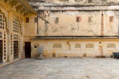 Amber Palace, état de Jaipur, Ràjasthàn, Inde Image libre de droits