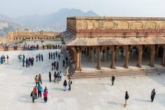 Amber Palace, état de Jaipur, Ràjasthàn, Inde Photos stock