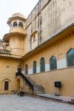 Amber Palace, état de Jaipur, Ràjasthàn, Inde Images libres de droits